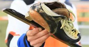 Schaatsschoen was vroeger te zacht voor skeelers