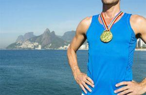 Gouden Olympische medaille