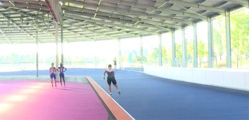 Overdekte skeelerbaan Heerenveen