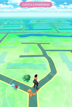 Pokémon GO op iPhone