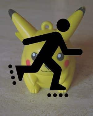 Pokémon GO op skeelers