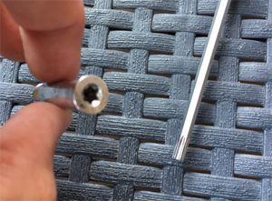 Skeeler asje en Torx sleutel