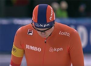 Sven Kramer met Oakley M Frame sportbril