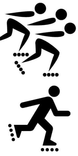 Verschil tussen skeeleren en inline-skaten