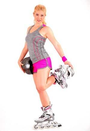 Inline-skater meisje