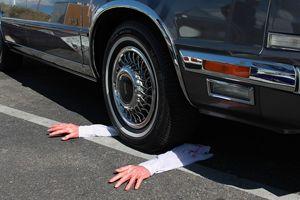 Ongeluk met auto