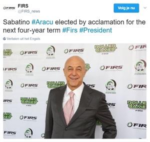 Sabatino Aracu president FIRS