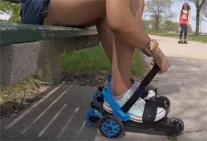 Cardiff Skate onderbinden met klittenband