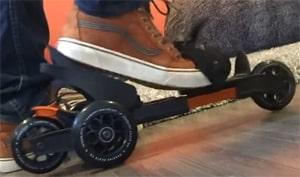 Cardiff Skate onderbinden