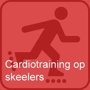Cardiotraining op skeelers