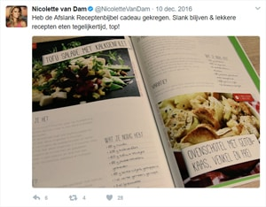 Nicolette van Dam Afslank Receptenbijbel