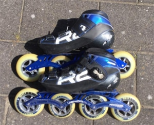 Powerslide R2 skeelers