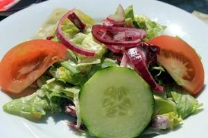 Gezond afvallen salade