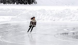 Bochten schaatsen