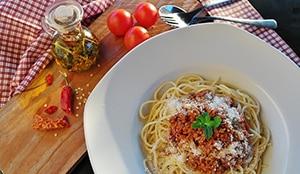 Pasta spaghetti koolhydraten