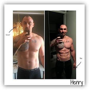 Droog Trainen Protocol Mannen resultaten Henry