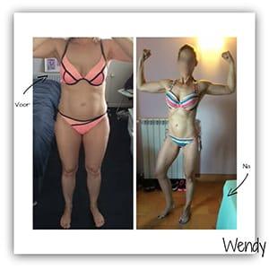 Droog Trainen Protocol Vrouwen resultaten van Wendy