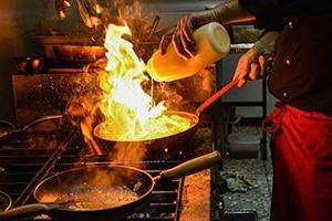 Koken op hoge temperaturen