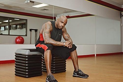 Fitness trainen met steps