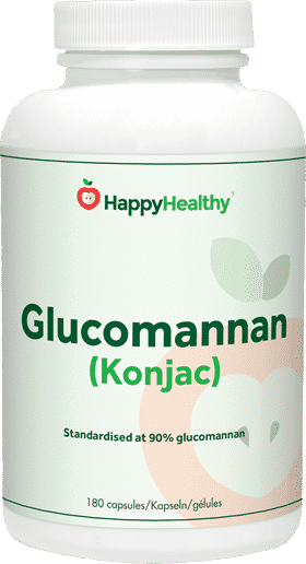 Glucomannan HappyHealthy supplement