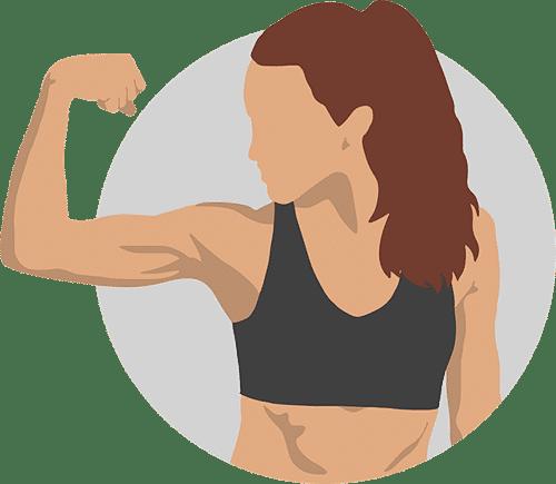 Spierherstel en spiergroei door slapen