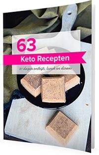 Keto Receptenboek cover