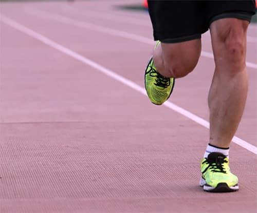 Hardlopen als warming-up voor skeeleren