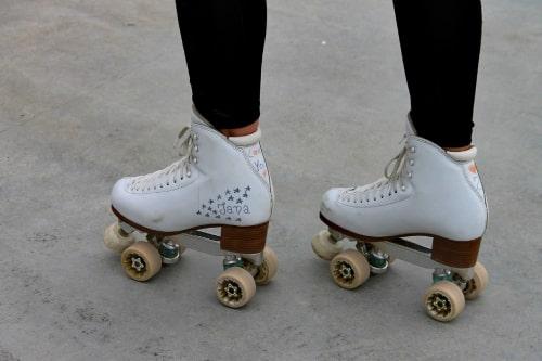 Rolschaatsen met een zachte schoen